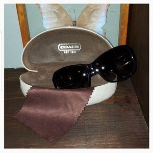 Coach Nina (5494) Black Sunglasses Cloth & Case